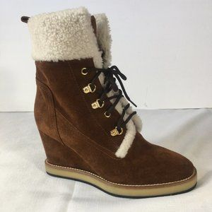 NEW! Napoleoni Suede & Shearling Boots EU39/US8